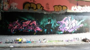 Graffiti Bochum Catwoman Bochum Uni Ruhruni Was Potul GBS