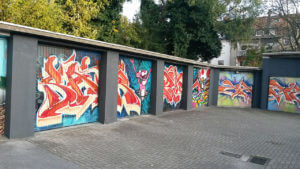 Garagentore Graffiti Gelsenkirchen Was Potul Vamos Pink Panther Toad