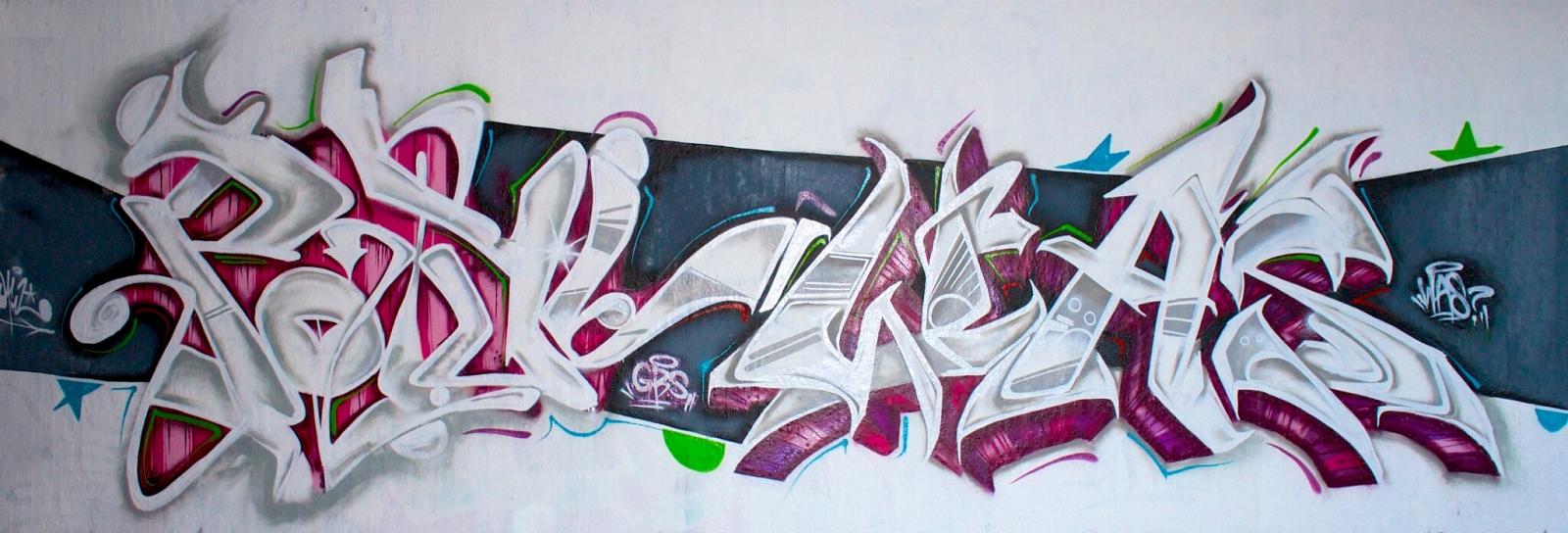 Graffiti Bochum Ruhr Uni - Potul Was GBS Crew