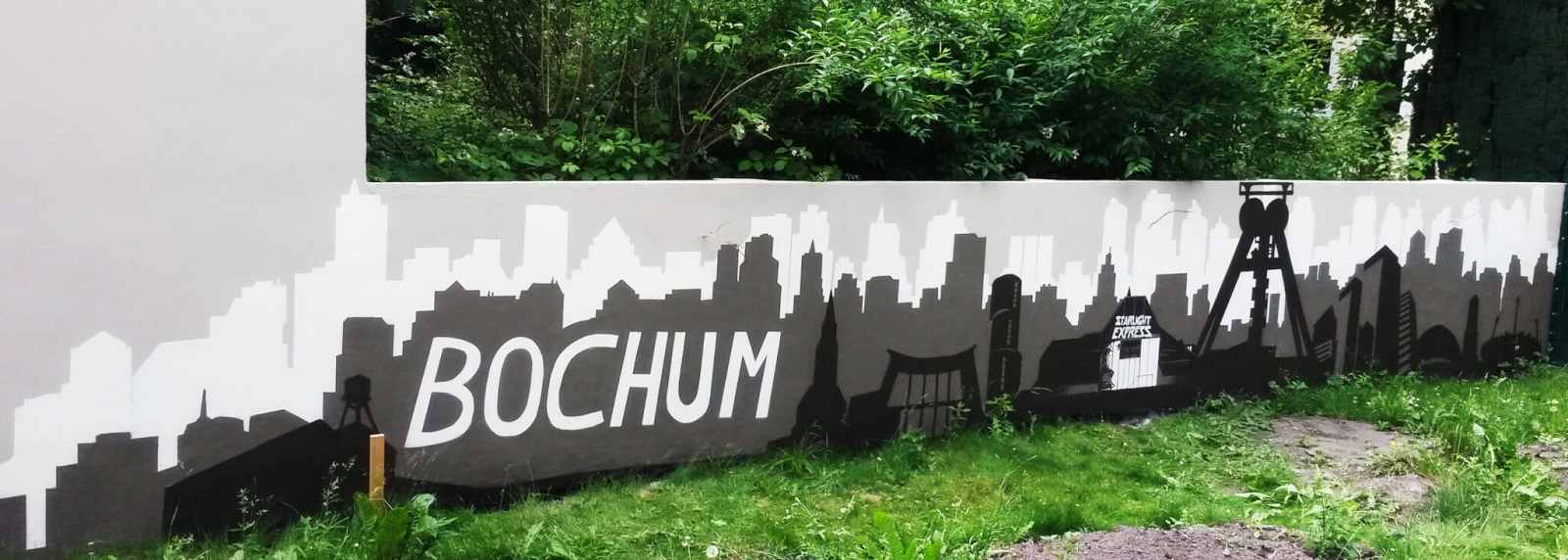 Bochum Skyline Starlightexpress Garten