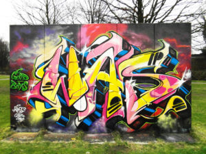 Bottrop Welheim Graffiti WAS