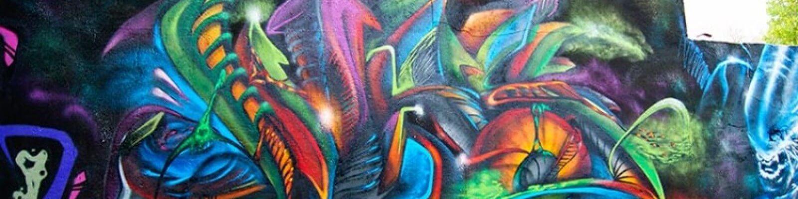 3D Graffit in Gelsenkirchen Feldmark