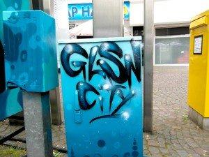 Gelsenkirchen bunter machen Graffiti WAS?