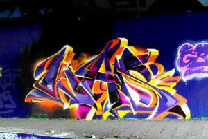 Graffiti Bochum WAS Tunnel Ruhr-Uni