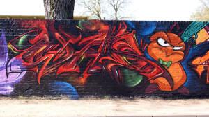 Graffiti in Dinslaken Hall of Fame