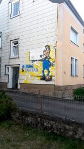 Graffiti Heizung Sanitär Dreuße GmbH Merzig Saarland