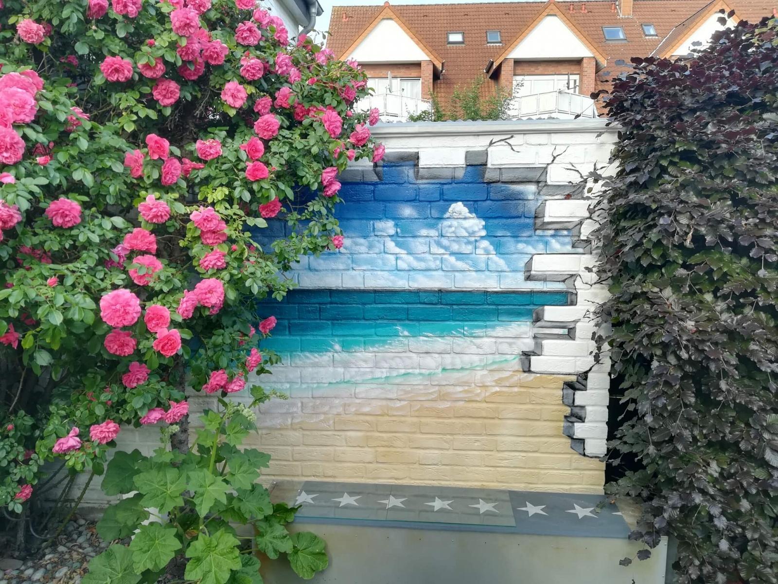Meerblick Sprühfarbe Lack Garten Rheda-Wiedenbrück