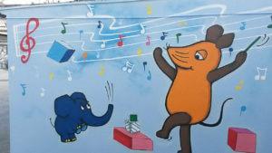 Sendung mit der Maus Elefant Graffiti Gelsenkirchen
