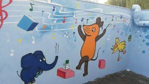 Sendung mit der Maus Graffiti Gelsenkirchen