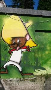 Speedy Gonzales Graffiti Gelsenkirchen