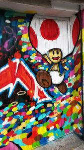 Toad Mario Nintendo Graffiti