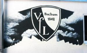 VFL-Bochum Graffiti Gartenhaus
