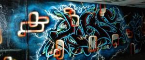 Graffiti in Gladbeck Schürenkamptunnel