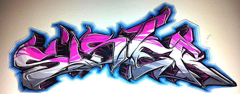 Graffiti mit Touchmarkern und Stabilo Sister